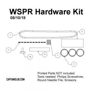 Captain Slug WSPR Homemade - Hardware Kit