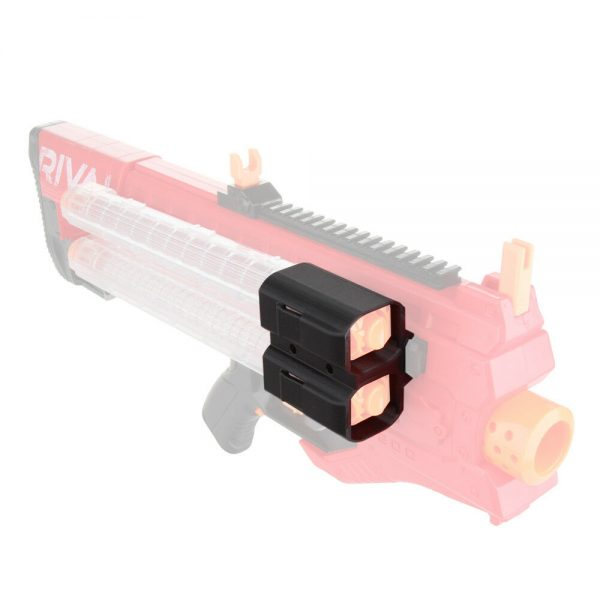 Worker Holder for 2 Rival Magazines - Picatinny Rail Mount