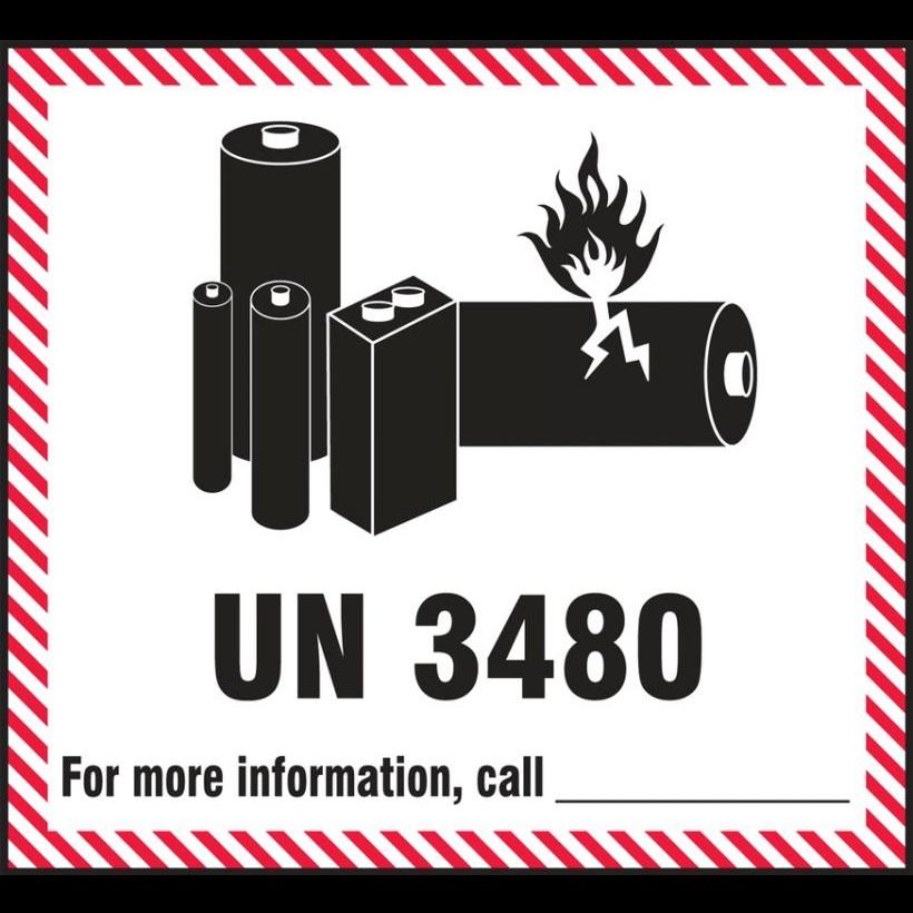 Lipo Warninglabel