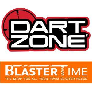 Dart Zone Logo Blaster-Time