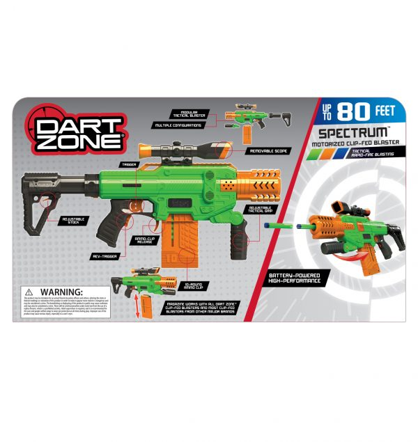 Dart Zone Spectrum