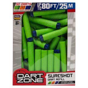 Dart Zone Waffle Dart Refill - 50 darts