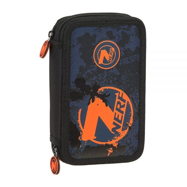NERF Pencil Case - filled with 28 pcs