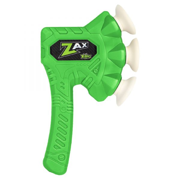 Zing Zax - Soft and Safe Foam Throwing Axe - Green