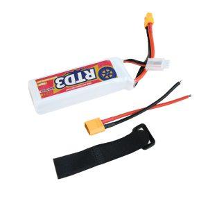 Jikey RTD3 3S 2200mAh 80C LiPo battery (XT60)