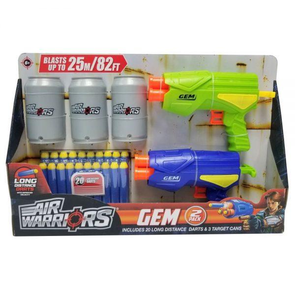 BuzzBee Air Warriors Gem 2 pack