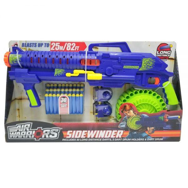 BuzzBee Air Warriors Sidewinder - Blue