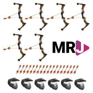 Mr. Jugendarbeit HyperStrike Bow Bundle - 6 Player